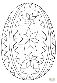 Click The Ornate Easter Egg Coloring Pages