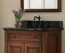 manor 30 inch vintage single sink bathroom vanity