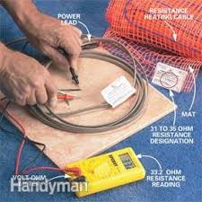 Warm Tiles Easy Heat Manual by How To Install In Floor Heat Family Handyman