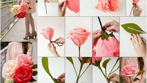 Eleven Easy Steps To Make Paper Flowers At Home