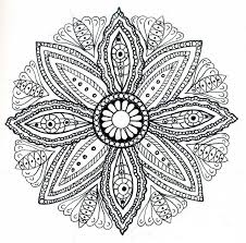 Coloring Print Free Mandala Pages For Adult On 1000 Images About Art