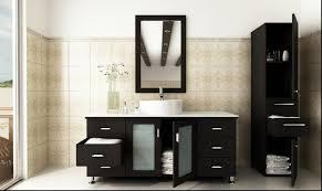 bathroom brown wooden bathroom vanities with tops with sink and