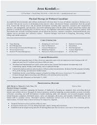Spa Therapist Resume Sample Popular Massage Example Lovely Physical Therapy Objective