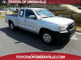 Used Car Specials | Toyota Of Greenville Pre-Owned Specials