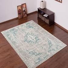 tapiso verse teppich kurzflor modern orient rosette designer