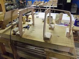 boat cradle baby tender ii by william lumberjocks com