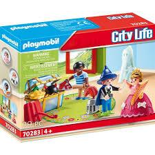 playmobil 70283 kinder mit verkleidungskiste playmobil city