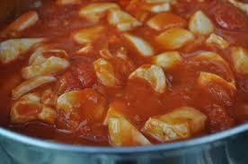 comment cuisiner des encornets frais encornet escabeche selon florence cuisine avec du chocolat ou