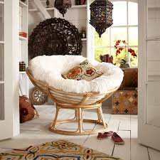 Pier One Dining Room Chair Cushions by Papasan Taupe Chair Frame Papasan Chair High Gloss And Rattan
