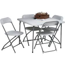 Kohls Folding Table And Chairs by Office Star Products 36 In Square Resin Folding Card Table And