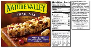 Nature Valley Product List