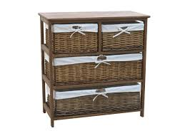 White Storage Cabinets With Drawers by Charles Bentley Wooden Wicker Drawer Storage Cabinet