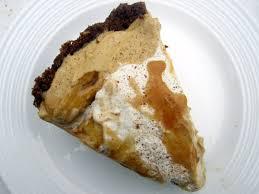 Pumpkin Pie With Gingersnap Crust by Dulce De Leche Pumpkin Mousse Pie With Pecan Gingersnap Crust