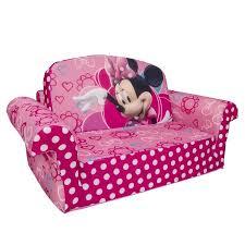 Disney Minnie Mouse Toddler 2 in 1 Flip Open Foam Sofa Chair