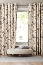 Dkny Curtain Panels Uk by Buy Cotton Sateen Wild Hedgerow Blackout Eyelet Curtains From The