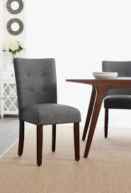 Dining Room Chair Covers Walmartca by Hometrends Grey Tufted Dining Chair Walmart Canada