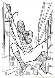 Spiderman 06 Coloring Page Download