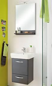 pelipal spiegel mit ablage alika farbe graphit struktur 70x50 cm