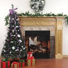 Slim Pre Lit Christmas Tree Argos by Endearing 50 Pre Decorated Christmas Tree Decorating Design Of