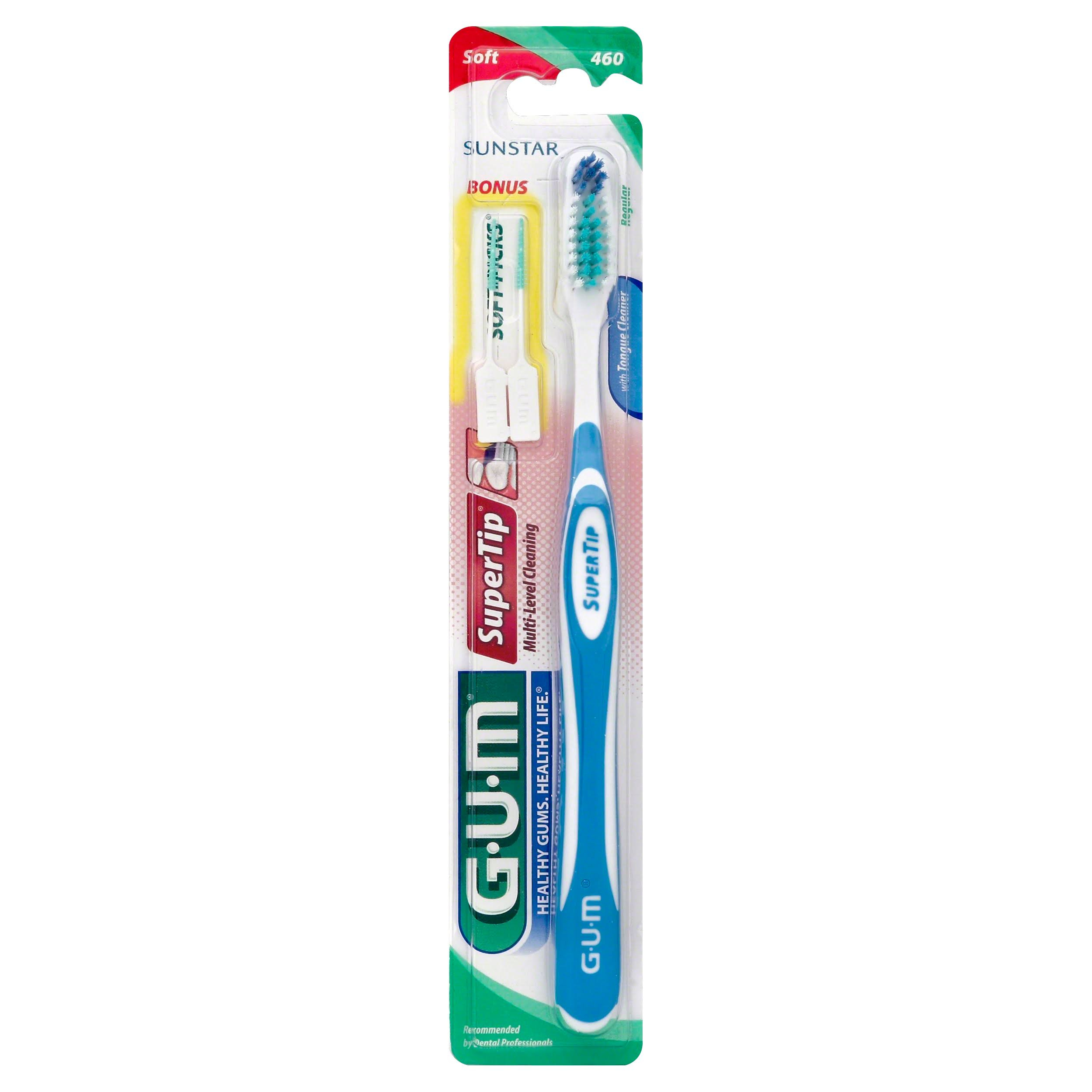 Gum Super Tip Toothbrush - Soft, Full