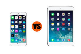 iPhone 6 Plus vs iPad Mini with Retina Display Which is Better