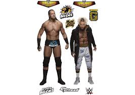 Wwe Wrestling Room Decor by Life Size Enzo And Big Cass Fathead Wall Decal Shop Wwe Fathead