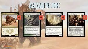 deck mtg modern instant deck tech abzan blink modern