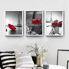 haochu turm stieg schwarz und weiß wohnzimmer dekoration malerei moderne landschaft schlafzimmer wandbilder schlafzimmer sofa wall poster