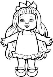 Baby Dolls Coloring Pages