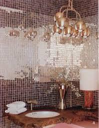 Brown Mosaic Bathroom Mirror by Silver Mirror Jumbled Mix One Pound Mosaic Tiles Mirror Mosaic