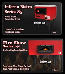 Char Broil Patio Caddie Lava Rocks by New York Revolving Brick Pizza Oven Inferno Bistro Fire Show New