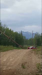 Truck vs power pole crash causes widespread power outage