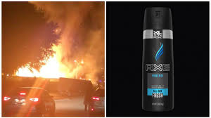 100 Truck Explosion Watch A Full Of Axe Explode In A Teen Pyro Fantasy Come To