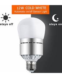 winter deals on sensor lights bulb dusk to led