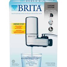 Pur Faucet Adapter Stuck by Brita Chrome On Tap Faucet Water Filter System Fits Standard