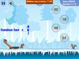 jeux pour apprendre les tables beau tables de multiplications