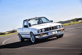 100 E30 Truck BMW Actually Built Two M3 Pickup Trucks