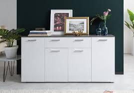 newroom sideboard jaime sideboard weiß beton modern landhaus highboard wohnzimmer schlafzimmer flur esszimmer kaufen otto