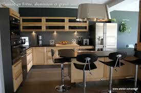 cuisine bois plan de travail noir leroy merlin cuisine plan de travail cuisine moderne plan