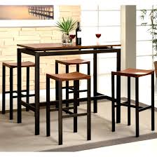 Counter Height Dining Table Bar Stool Set Square And Stools ...