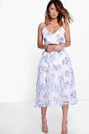 boutique mia bralet u0026 full midi skirt co ord set boohoo