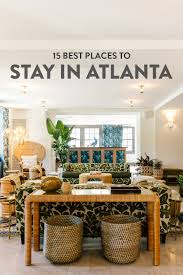 Best Places To Stay In Atlanta || Local Adventurer Travel Blog