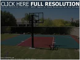 Backyards: Winsome Backyard Sports Courts. Backyard Ideas. Small ... Home Basketball Court Design Outdoor Backyard Courts In Unique Gallery Sport Plans With House Design And Plans How To A Gym Columbus Ohio Backyards Trendy Photo On Awesome Romantic Housens Basement Garagen Sketball Court Pinteres Half With Custom Logo Built By Deshayes