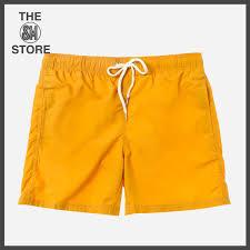 100 Coco Republic Sale Mens Monotone Board Shorts In Yellow