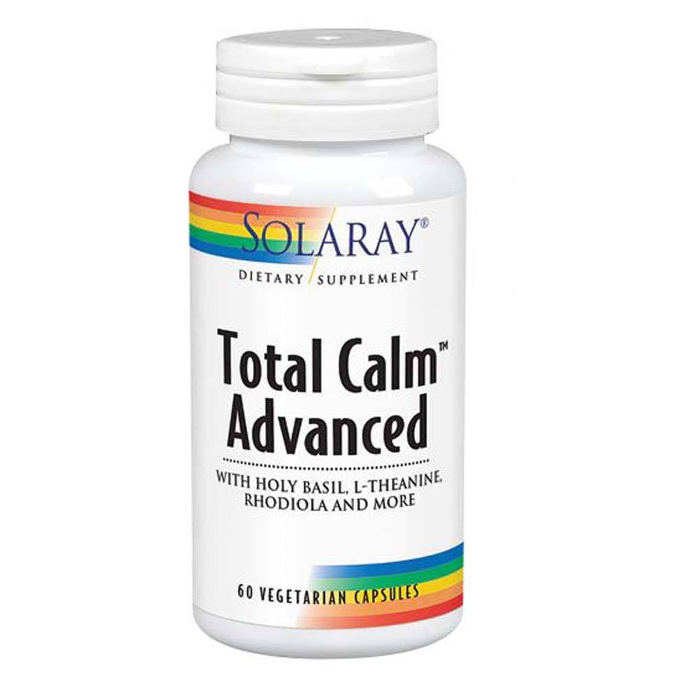 Solaray Total Calm Advanced Dietary Supplement - 60 Capsules