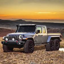 2020 Jeep Gladiator Pickup Truck Rendered As 6x6 Conversion ...