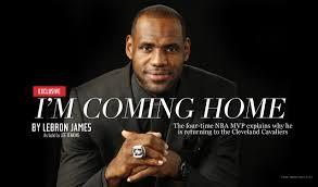 LeBron James announces return to Cleveland Cavaliers