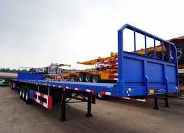 100 Truck Trailer Manufacturers Flatbed Container With Headboard China