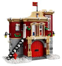 10263 Winter Village Fire Station Official Announcement ...