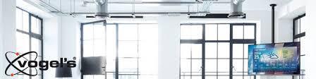 vogels tv monitor halterung für dachschräge decke